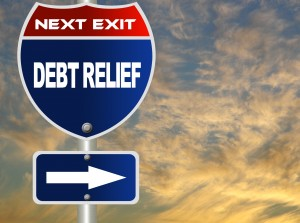 Many people file bankruptcy to get meaningful debt relief.